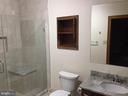 Lower Bathroom Renovated in 2018 - 2808 DEEPWATER TRL, EDGEWATER