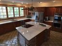 Upstairs Kitchen with New Granite Island: Spring18 - 2808 DEEPWATER TRL, EDGEWATER