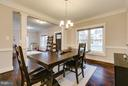 Formal Dining Room - 118 MADISON RIDGE LN, HERNDON