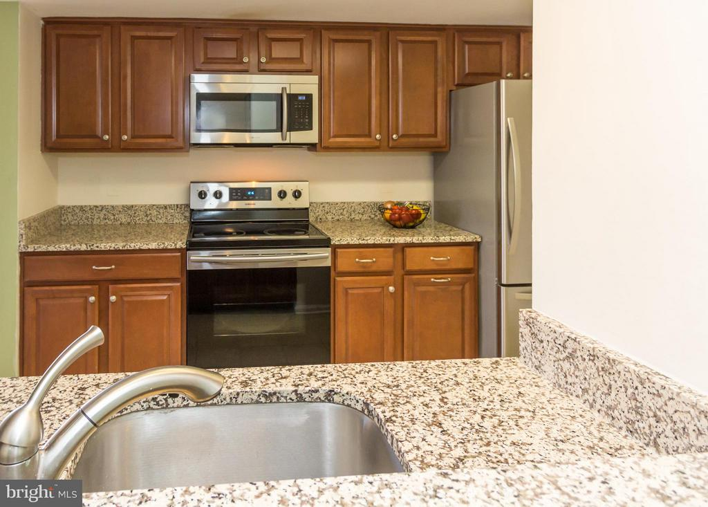 2017 appliances, cherry cabinets, granite counters - 4050-B GRAYS POINTE CT, FAIRFAX