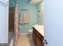 60-inch cherry vanity in bathroom - 4050-B GRAYS POINTE CT, FAIRFAX