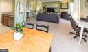 Open concept floor plan - 4050-B GRAYS POINTE CT, FAIRFAX