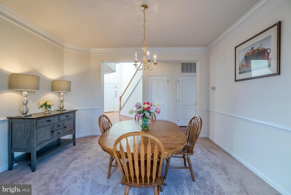 Dining Room - 25929 QUINLAN ST, CHANTILLY