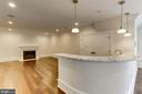 Top Level Family Room/Bar - 3301 FESSENDEN ST NW, WASHINGTON
