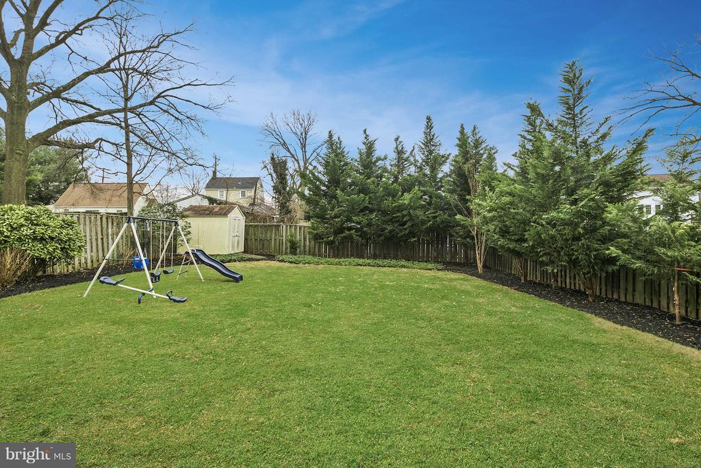Spacious Backyard - 309 TIMBERWOOD AVE, SILVER SPRING