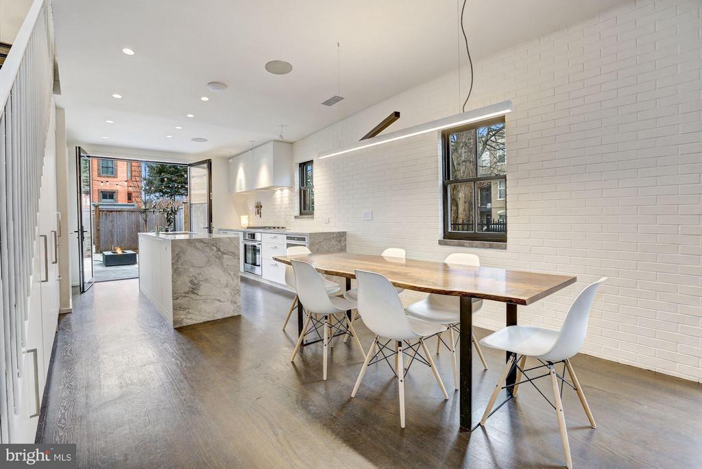 Main Level - Dining Area - 1901 12TH ST NW, WASHINGTON