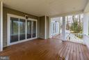Covered Rear Deck - 6017 TILDEN LN, ROCKVILLE