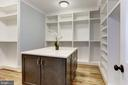 Extra large walk-in closet with folding area - 3411 N WOODROW ST, ARLINGTON