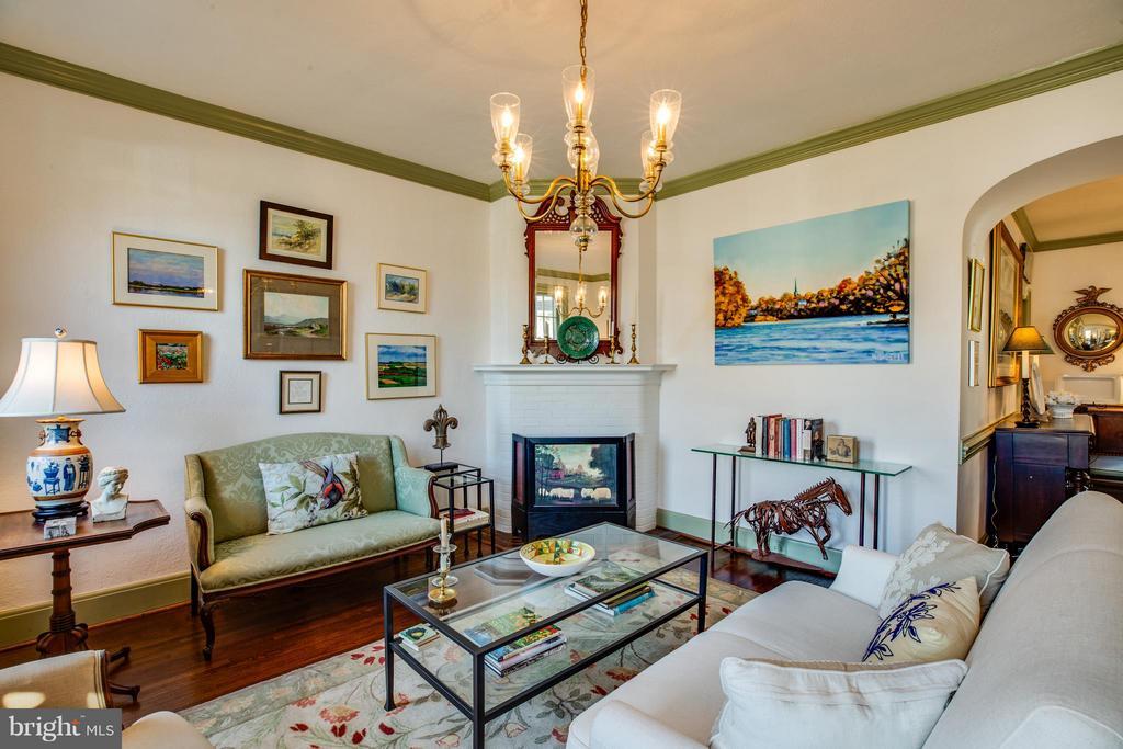 Living room - 804 CORNELL ST, FREDERICKSBURG