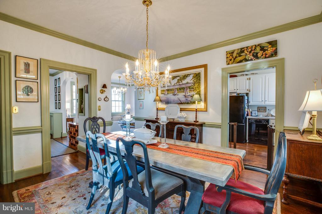 Dining room off of kitchen - 804 CORNELL ST, FREDERICKSBURG