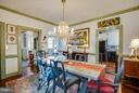 Dining room off of kitchen - 804 CORNELL ST, FREDERICKSBURG