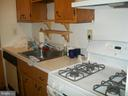 Kitchen with gas stove and dishwasher - 2755 ORDWAY ST NW #311, WASHINGTON