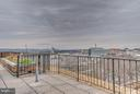 Public Rooftop View of Water, Wharf, and Monuments - 560 N ST SW #N707, WASHINGTON