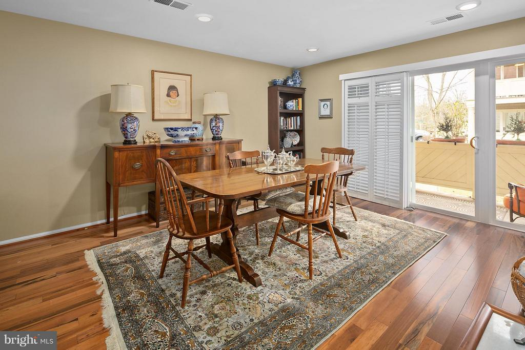 Dining Room - 5806 LINDEN SQUARE CT #38, NORTH BETHESDA