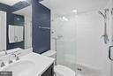 Master Bath - 5806 LINDEN SQUARE CT #38, NORTH BETHESDA