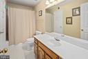 Full Bath - 5806 LINDEN SQUARE CT #38, NORTH BETHESDA