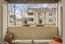 Balcony - 5806 LINDEN SQUARE CT #38, NORTH BETHESDA