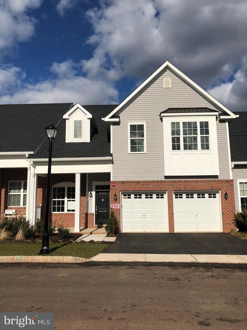 Single Family Home for Sale at 20 OLD FOUNDRY Drive Pennington, New Jersey 08534 United StatesMunicipality: Pennington Borough