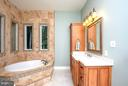 His and Her Seperate Vanity W/ Heated Floors - 11207 KNOLLS END, SPOTSYLVANIA