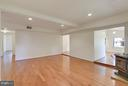 Den View to Bedroom and Great Room - 1341 GORDON LN, MCLEAN
