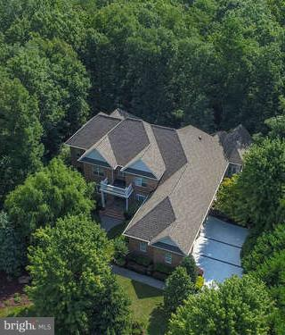 What a private Homesite surrounded by trees. - 11207 KNOLLS END, SPOTSYLVANIA