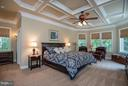Large First Floor Master Bedroom w/ Sitting Area - 11207 KNOLLS END, SPOTSYLVANIA