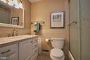 Hall Bath updated and ready to go! - 3421 BEAUFORD CIR, ANNANDALE