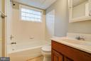 Full Bath on Third Level - 717 WOODBURN RD, ROCKVILLE