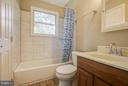 Hall Bath on Second Level - 717 WOODBURN RD, ROCKVILLE