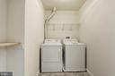 Upper level laundry room - 43580 DUNHILL CUP SQ, ASHBURN
