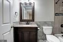 Hall bathroom - newly renovated - 43580 DUNHILL CUP SQ, ASHBURN
