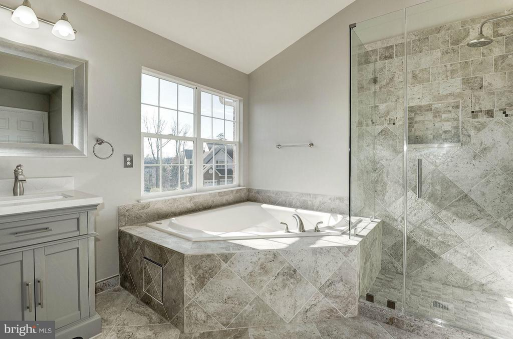 Master bathroom - newly renovated - 43580 DUNHILL CUP SQ, ASHBURN