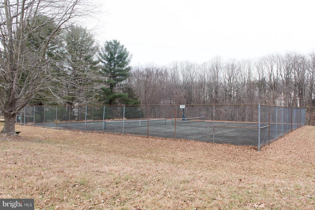 2 tennis courts - 9109 WHITE CHIMNEY LN, GREAT FALLS