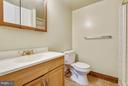 Lower Level Bath - 13025 TRAILSIDE WAY #4, GERMANTOWN