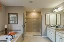 The owners bath - 2312 SWEET PEPPERBRUSH LOOP, DUMFRIES