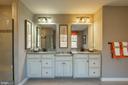 Dual sinks - 2312 SWEET PEPPERBRUSH LOOP, DUMFRIES