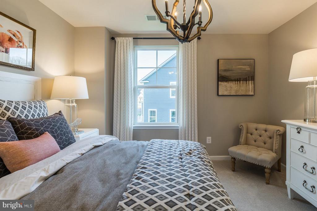 Bedroom #3 upstairs - 2312 SWEET PEPPERBRUSH LOOP, DUMFRIES