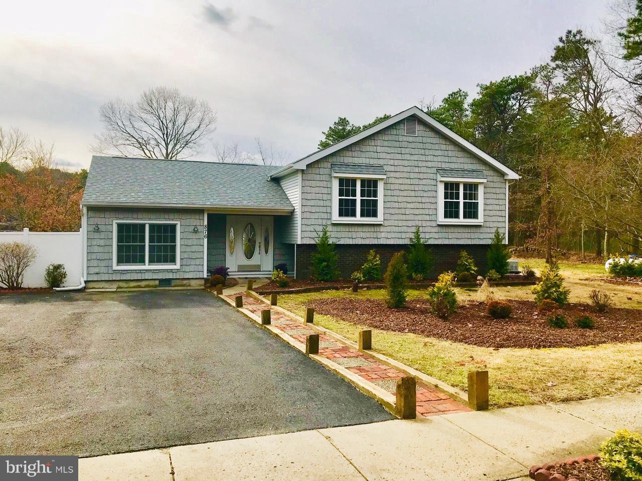 Maison unifamiliale pour l Vente à 876 WILLOW WAY Atco, New Jersey 08004 États-UnisDans/Autour: Waterford Works