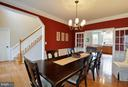 Formal dining - 221 SEQUESTER DR, STAFFORD