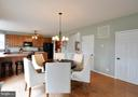 Lovely kitchen dining space! - 221 SEQUESTER DR, STAFFORD