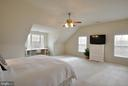 Light and airy master bedroom - 221 SEQUESTER DR, STAFFORD