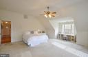 Lovely  master bedroom with lots of natural light! - 221 SEQUESTER DR, STAFFORD