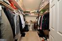 Master walk-in closet! - 221 SEQUESTER DR, STAFFORD