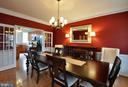 Separate formal dining space! - 221 SEQUESTER DR, STAFFORD