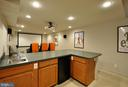 Wet Bar for making  popcorn and storing snacks - 221 SEQUESTER DR, STAFFORD