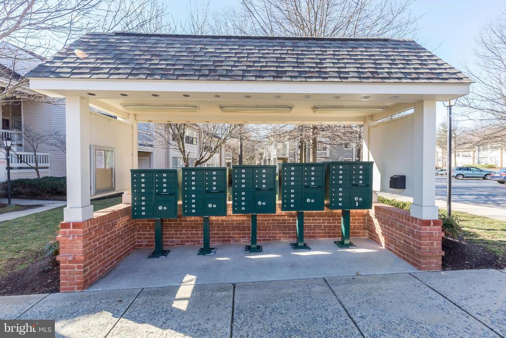 Mailboxes - 5806 LINDEN SQUARE CT #38, NORTH BETHESDA