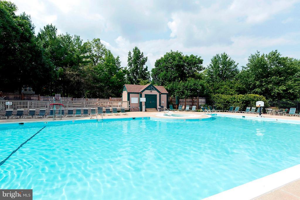 Community Pool - 5806 LINDEN SQUARE CT #38, NORTH BETHESDA