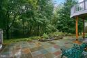Lower back patio - 7224 FARR ST, ANNANDALE