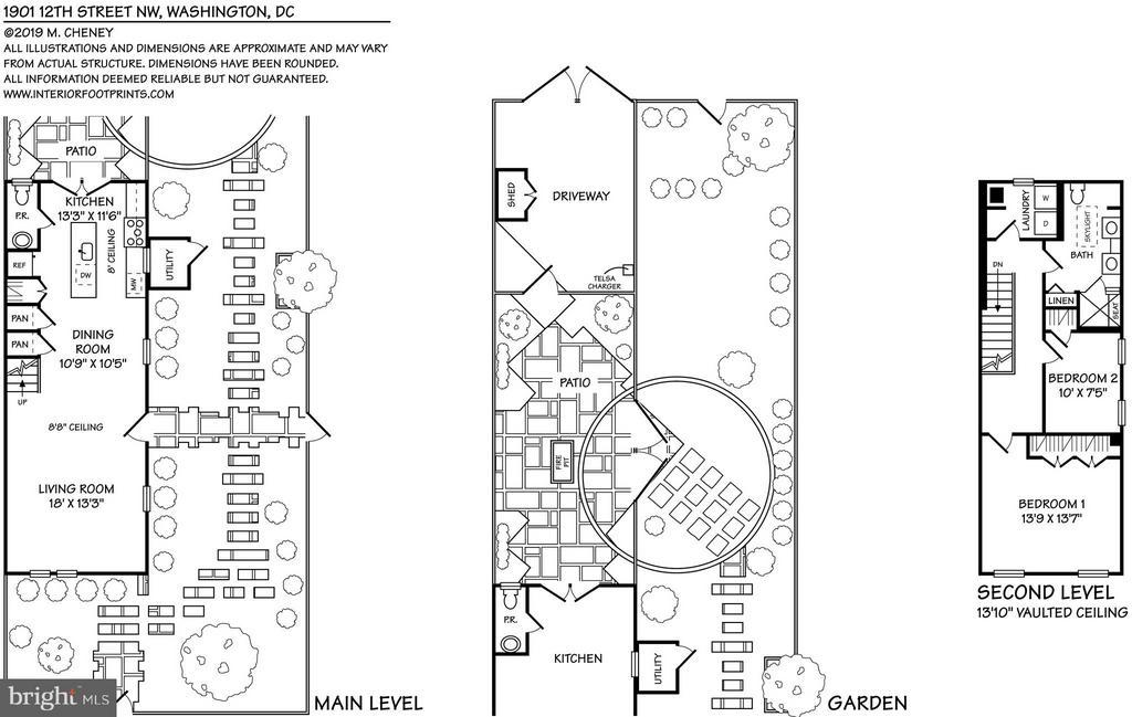 Floor Plans - 1901 12TH ST NW, WASHINGTON