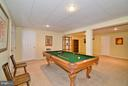 Rec Room w/ Pool Table - 4555 SHETLAND GREEN RD, ALEXANDRIA